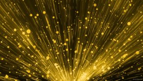 vj video background yellow-glowing-particles-vj-loop_1_003