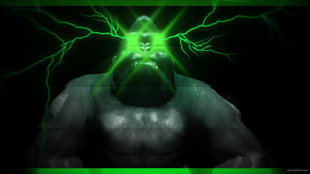 vj video background Gorilla-Eye-Strobe-VJ-Loop-LIMEART_003