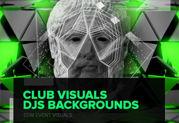 club visuals vj loops video