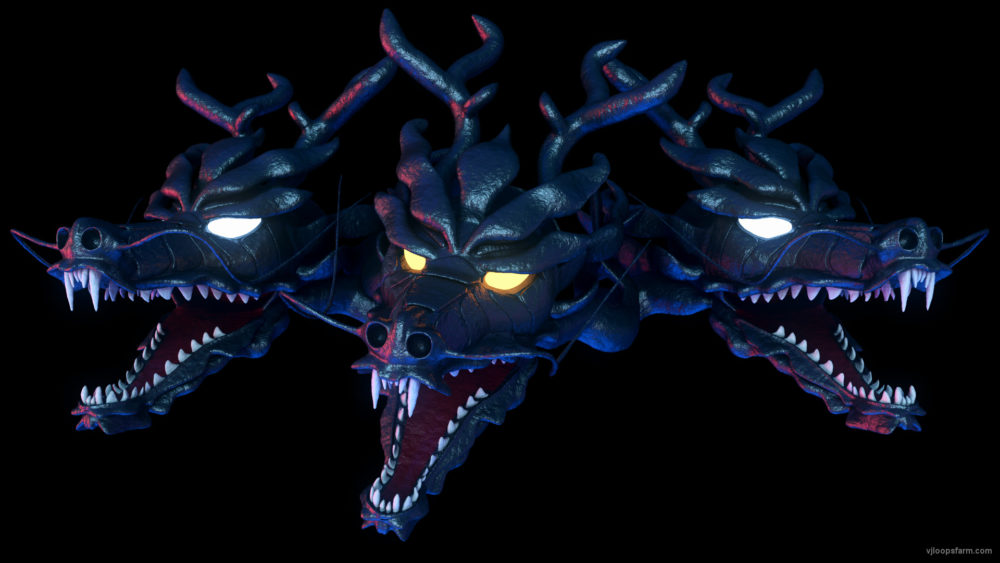 vj video background dragon-3-heads-alpha-5sec-FHD_003