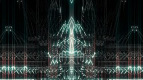 vj video background Blue_Shining_Ray_Prater_Machine_Rhythmic_Action_VJ_Loop_LIMEART_003