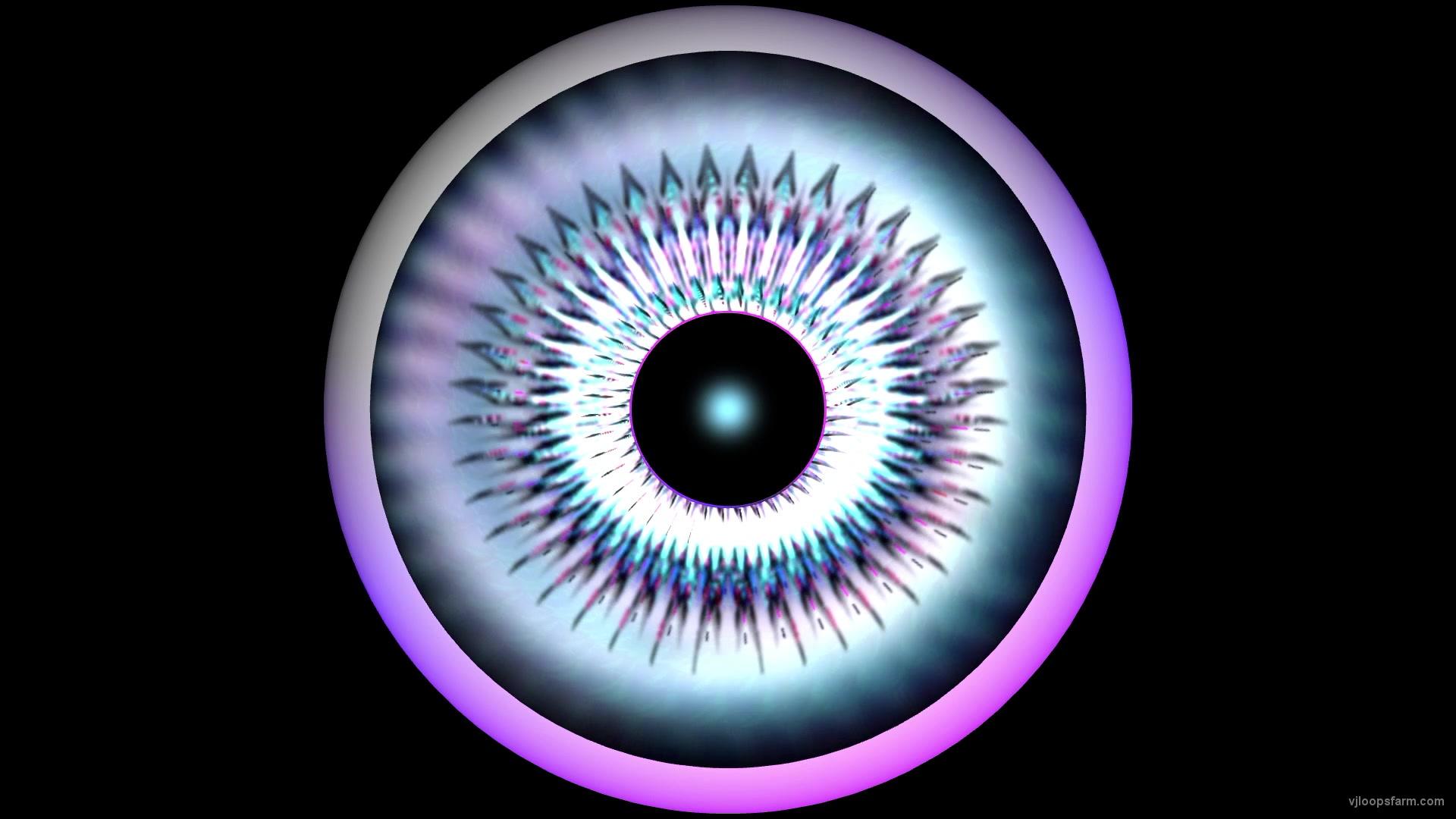 Mad Rave Psychedelic Eye Full HD 30fps VJ Loop | Download at VJ Loops Farm