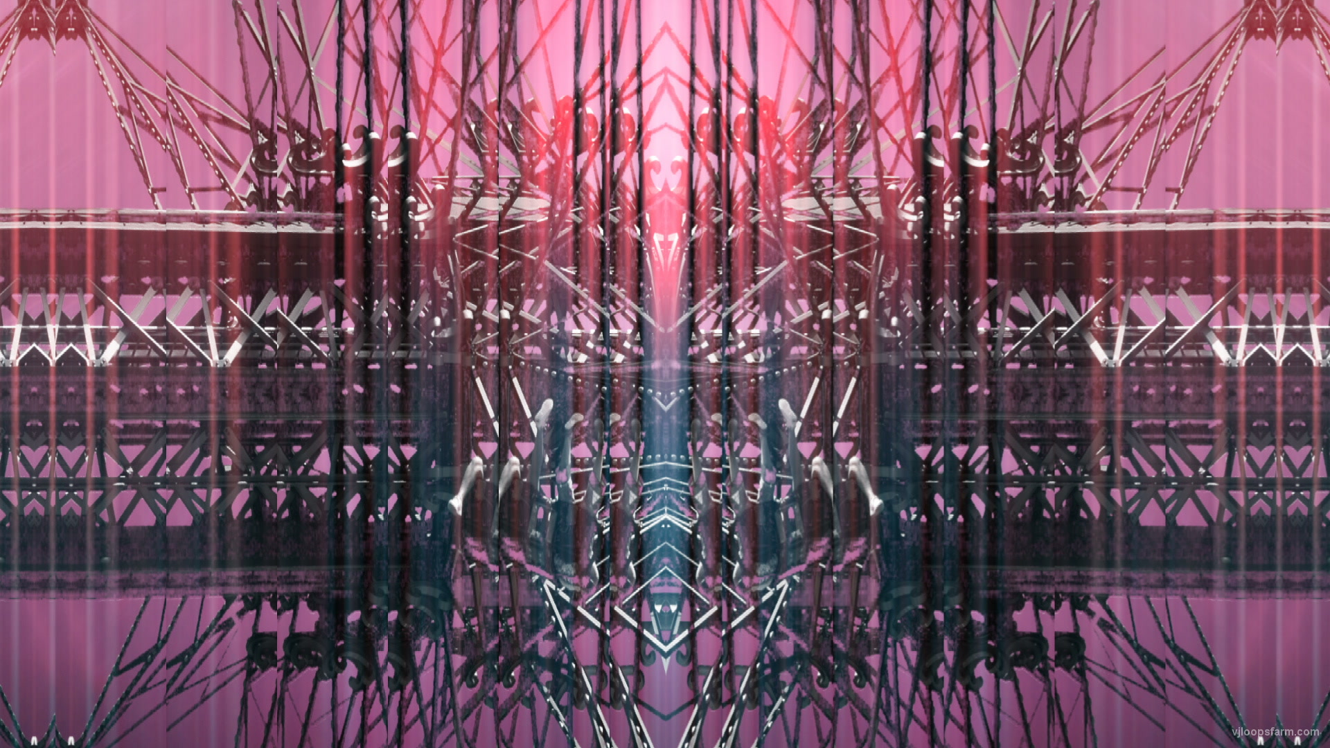 vj video background Shiny_Flashing_Silver_Prater_Machine_Rotating_VJ_Loop_LIMEART2_003