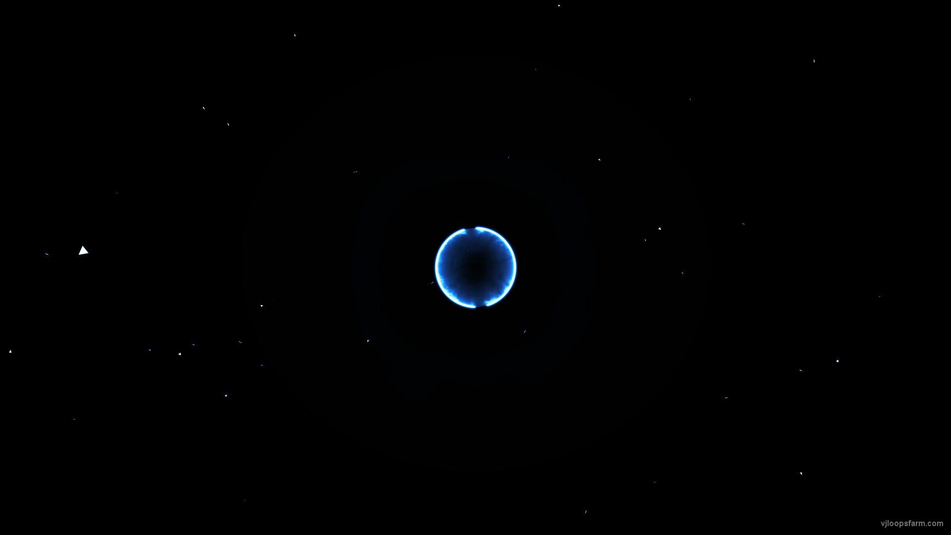 vj video background Space_blue_edm_beats_shockwave_explosion_fullhd_60fps_vj_loop_003