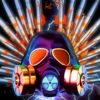 Metallic_Silver_Shiny_Gas_Mask_Warhead_Missile_Crown_Full_HD_VJ_Loop_006 VJ Loops Farm