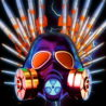 Metallic_Silver_Shiny_Gas_Mask_Warhead_Missile_Crown_Full_HD_VJ_Loop_008 VJ Loops Farm