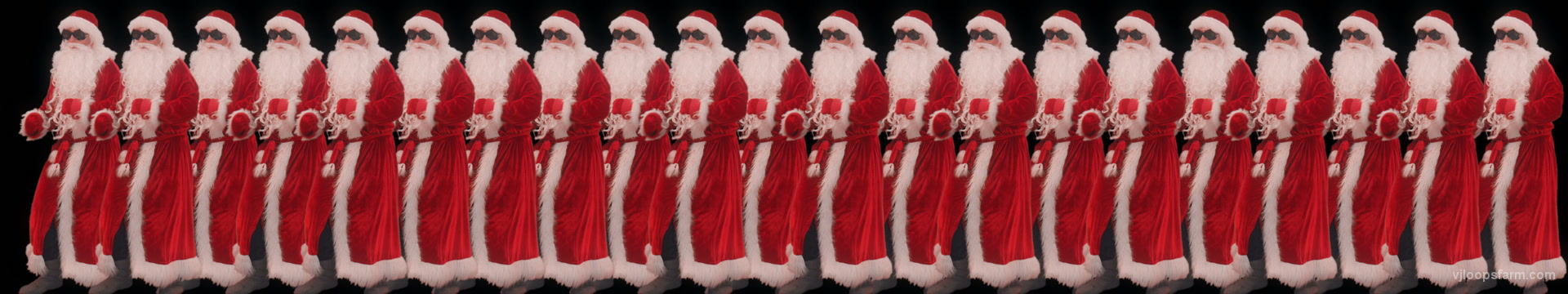 vj video background Santa-Claus-Dancing-on-black-screen-Christmas-Ultrawide-Vj-Loop_003