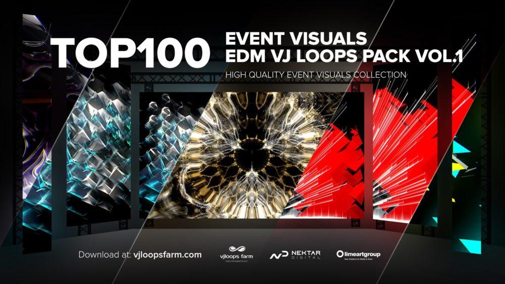 top 100 vj loops event visuals
