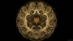 vj video background Twirl-Golden-Sun-Fulldome-Projection-Vj-Loop-Art-Visuals_003