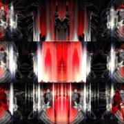 Bass-man-Guitarist-in-white-mask-play-guitar-bass-pixel-sorted-evil-Vj-Loop VJ Loops Farm
