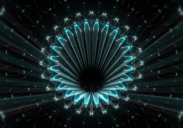 Fractal-blue-kaleidoscopic-background-motion-with-fractal-design-LIMEART_006 VJ Loops Farm