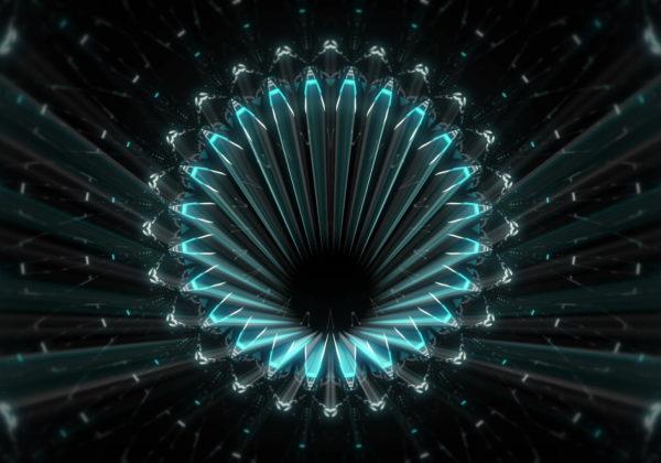 Fractal-blue-kaleidoscopic-background-motion-with-fractal-design-LIMEART_006 VJ Loops Farm