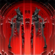Horn-Evil-Red-Mask-Girl-Vj-Loop_006 VJ Loops Farm
