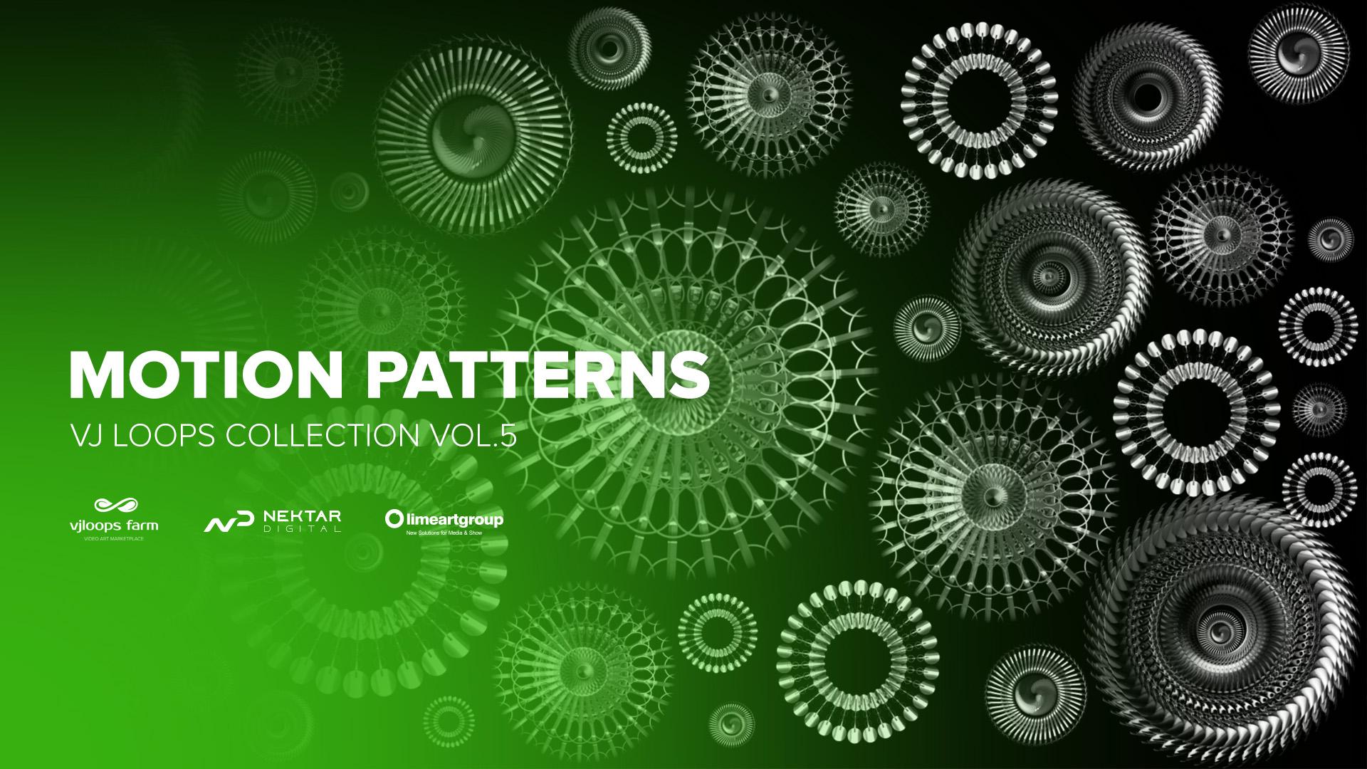 Motion Patterns VJ LOOPS