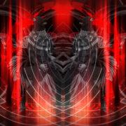 Rock-Horse-man-Guitarist-in-Head-mask-play-guitar-pixel-sorted-evil-4K-Vj-Loop_002 VJ Loops Farm