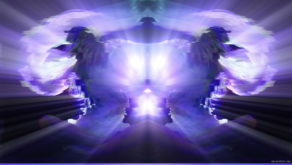 vj video background Split-purple-ray-effect-Beautiful-dancer-woman-dance-uses-fans-on-black-background_003