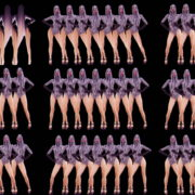 Ass-Movement-Go-Go-Girl-Video-Pattern-Stock-Footage-Art-Vj-Loop VJ Loops Farm
