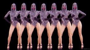 vj video background Ass-Movement-Go-Go-Girl-Video-Pattern-Stock-Footage-Art-Vj-Loop_003