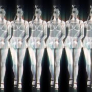 Black-White-Girls-Video-Texture-Pattern-in-Gas-Mask-marshing-with-glowing-effect-stock-footage-video-art-vj-loop_007 VJ Loops Farm