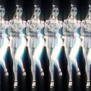 Black-White-Girls-Video-Texture-Pattern-in-Gas-Mask-marshing-with-glowing-effect-stock-footage-video-art-vj-loop_008 VJ Loops Farm