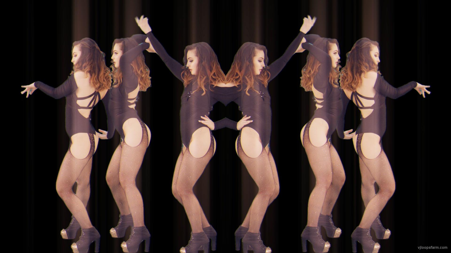 vj video background Dancig-GO-GO-Girls-over-black-motion-backgroun-stock-footage-video-art-vj-loop_003