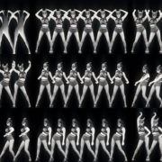 Girls-Black-White-Girls-Pattern-Video-Wall-VIdeo-Art-VJ-Loop VJ Loops Farm