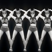 Girls-Black-White-Girls-Pattern-Video-Wall-VIdeo-Art-VJ-Loop_002 VJ Loops Farm
