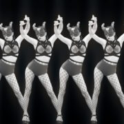 Girls-Black-White-Girls-Pattern-Video-Wall-VIdeo-Art-VJ-Loop_004 VJ Loops Farm