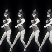 Girls-Black-White-Girls-Pattern-Video-Wall-VIdeo-Art-VJ-Loop_007 VJ Loops Farm