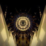 vj video background Golden-Gate-Center-Tunnel-Flught-Animation-Video-Art-Vj-Loop_003