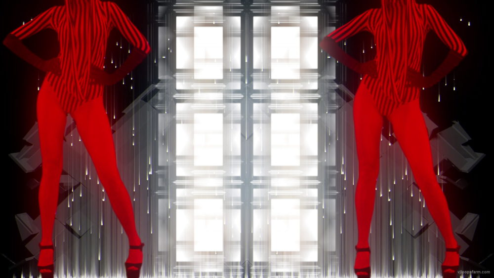 vj video background No-Head-Red-Bitch-Girls-Dancing-on-EDM-Beats-Video-Art-VJ-Loop_003