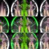 Rave-Green-Circle-Girls-EDM-decoration-wall-Video-Art-Vj-Loop VJ Loops Farm