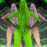 Rave-Green-Circle-Girls-EDM-decoration-wall-Video-Art-Vj-Loop_005 VJ Loops Farm