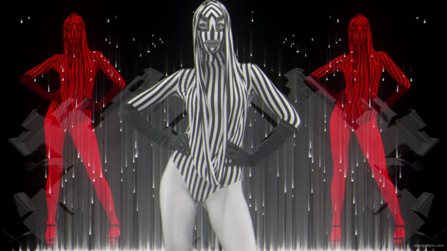 vj video background Rave-Red-Girls-EDM-decoration-wall-Video-Art-Vj-Loop_003