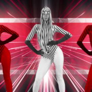 Red-Zebra-Girls-Dancing-on-EDM-Beats-Video-Art-VJ-Loop_004 VJ Loops Farm