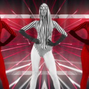 Red-Zebra-Girls-Dancing-on-EDM-Beats-Video-Art-VJ-Loop_008 VJ Loops Farm