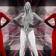 Red-Zebra-Girls-Dancing-on-EDM-Beats-Video-Art-VJ-Loop_009 VJ Loops Farm