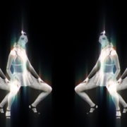 vj video background Side-Screen-Chernobyl-Girls-Dancing-in-pixel-sorting-effect-stock-footage-video-art-vj-loop-1_003