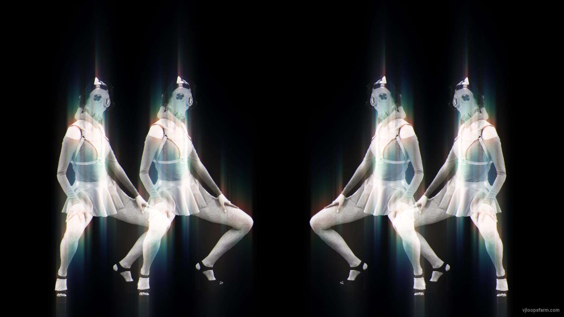 vj video background Side-Screen-Chernobyl-Girls-Dancing-in-pixel-sorting-effect-stock-footage-video-art-vj-loop-1_003