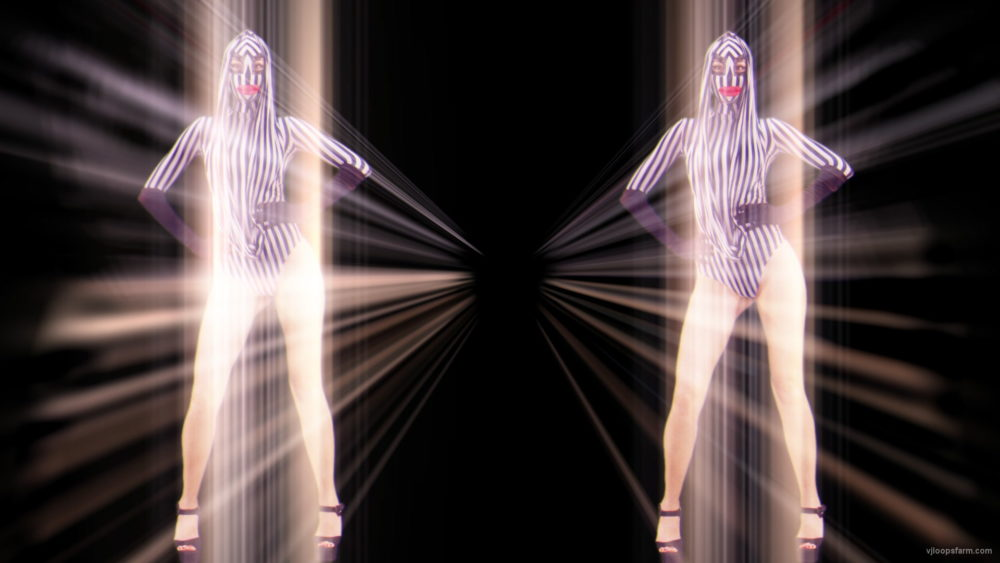 vj video background Side-Screen-Girls-Couple-for-Center-DJ-Go-Go-Dancing-Stock-Footage-Video-Art-VJ-Loop_003