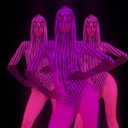 Violet-Pink-Go-Go-Dancing-girls-with-strobing-EDM-Effect-on-black-motion-background-vj-loop_004 VJ Loops Farm