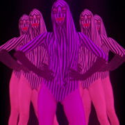 Violet-Pink-Go-Go-Dancing-girls-with-strobing-EDM-Effect-on-black-motion-background-vj-loop_005 VJ Loops Farm