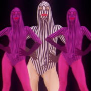 Violet-Pink-Go-Go-Dancing-girls-with-strobing-EDM-Effect-on-black-motion-background-vj-loop_006 VJ Loops Farm