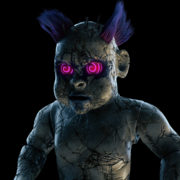 3D-Doll-shooting-with-lasers-from-the-eyes-halloween-ultra-hd-vj-loop_007 VJ Loops Farm