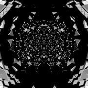 Black-and-White-Triangles-Gate-portal-destruction-video-loop-transition_004 VJ Loops Farm