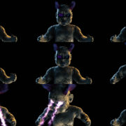 Doll-Hand-Attack-with-eye-shooting-energy-Ultra-HD-3D-VJ-Loop VJ Loops Farm