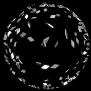 Falling-Elements-in-Space-energy-black-and-white-visuals-3D-Effect-Fulldome-Video-Loop_006 VJ Loops Farm
