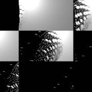 Falling-Hexagons-particles-in-destruction-wall-collapse-crash-video-loop-transition VJ Loops Farm