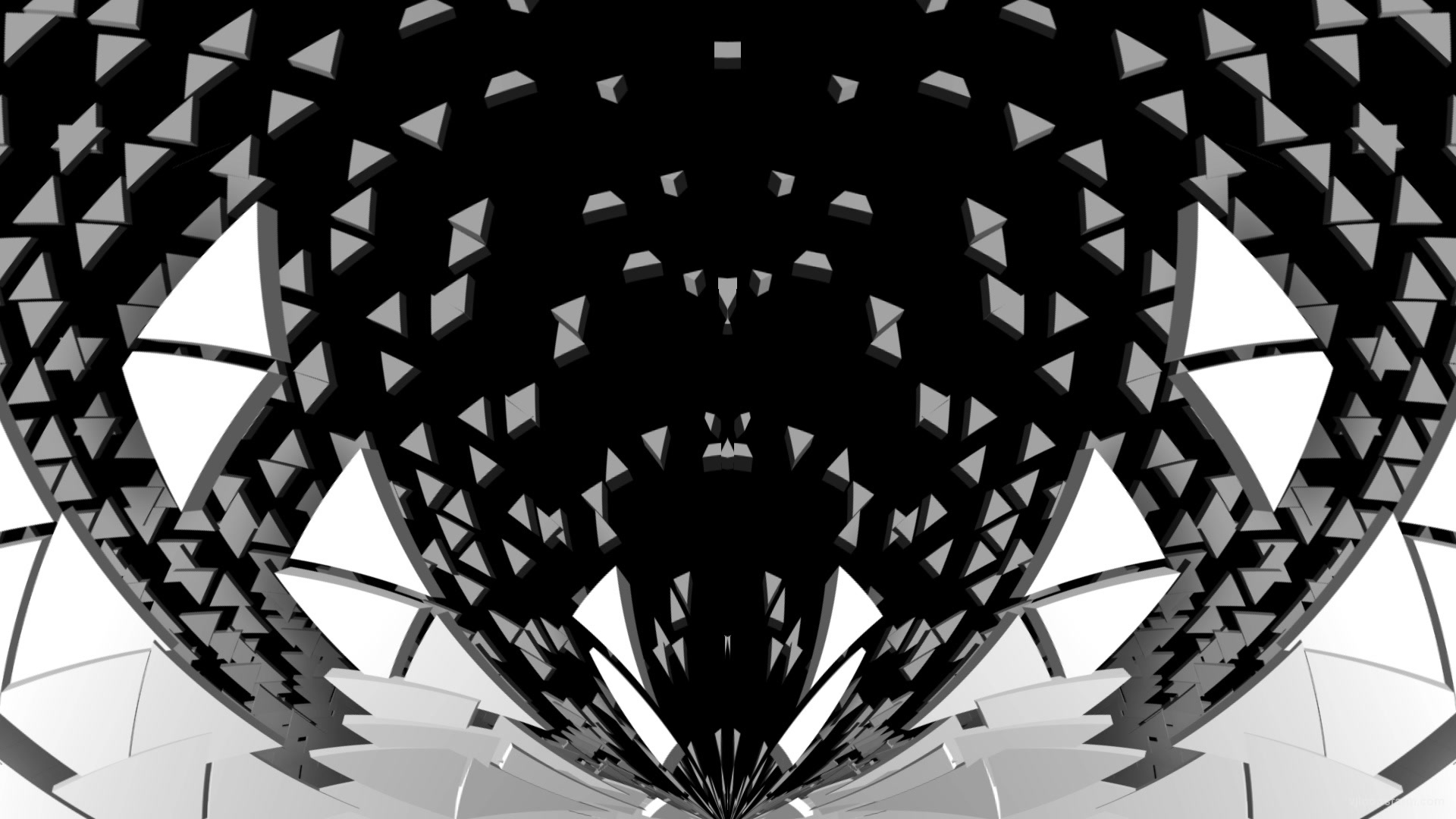 Gate Portal Wings with displace effect video art vj loop transition for 3d  mapping   Download at VJ Loops Farm