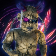 vj video background Halloween-Angry-Doll-running-on-the-vortex-space-Ultra-HD-VJ-Loop_003